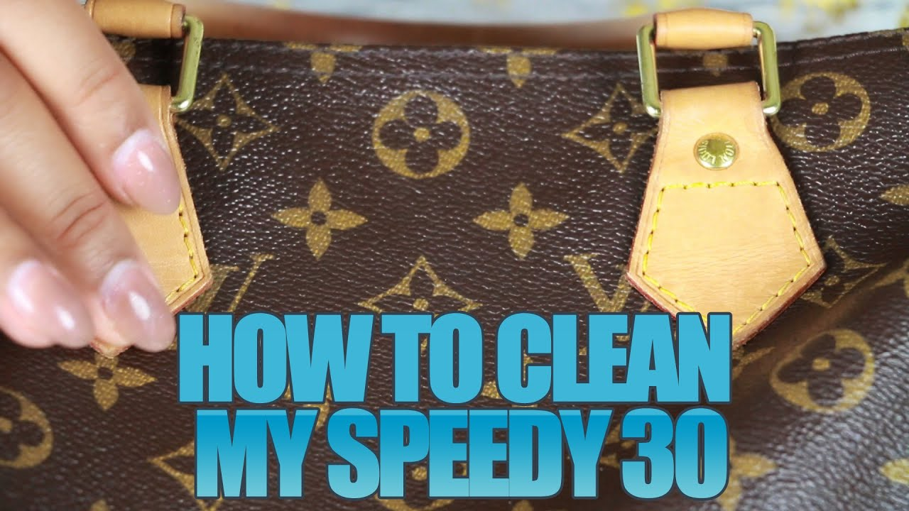 9347c100f9da DIY - Cleaning my Speedy 30 - YouTube