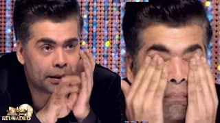 Karan Johar CRIES on Jhalak Dikhhla Jaa RELOADED | 30th September 2015 Episode