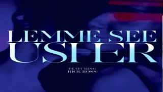 Usher Ft. Rick Ross - Lemme See (Instrumental)