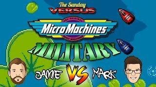 Micro Machines Military - Sega Mega Drive (Sunday Versus)