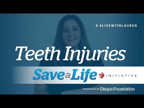 Teeth Injuries- How to Help Someone with a Tooth Injury (2019)