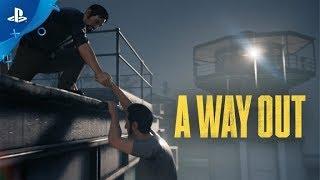 A WAY OUT PS4 [LIVE #2] COOP Z PAVKIEM | Ucieczki ciąg dalszy