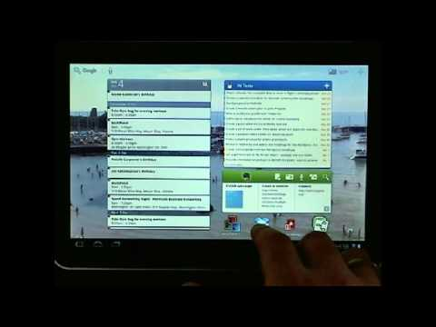Android Honeycomb Tablet Apps
