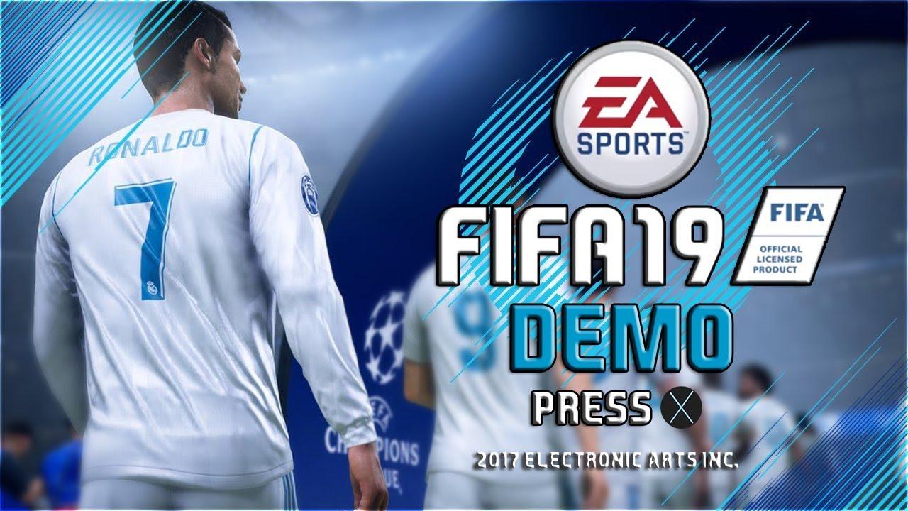FIFA 19 DEMO: DATE DE SORTIE, MODES, EQUIPES, INFORMATIONS...