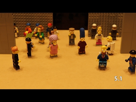 Measure for Measure – Shakespeare Lego Simpsons