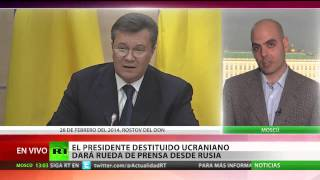 Yanukóvich: EE.UU. no tiene derecho a financiar a bandidos