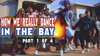 🕺🏾🤯 HOW WE REALLY DANCE IN THE BAY AREA (PART 1) : Dance A Lil Different (Smeeze) - East Oakland, CA