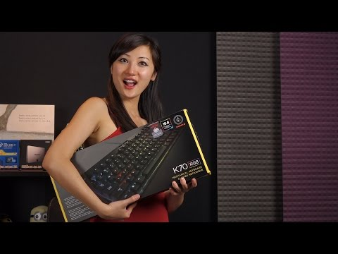 Corsair Gaming K70 RGB Keyboard Review: Cherry MX RGB Red Switches