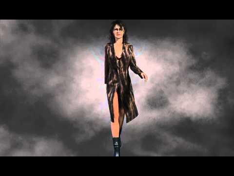 Fur Coat using Daz3D, Freebie by OptiTex-dynamiccloth com