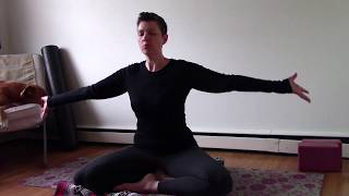 Restorative Yoga - a Short Practice for Stress Relief 30 mins