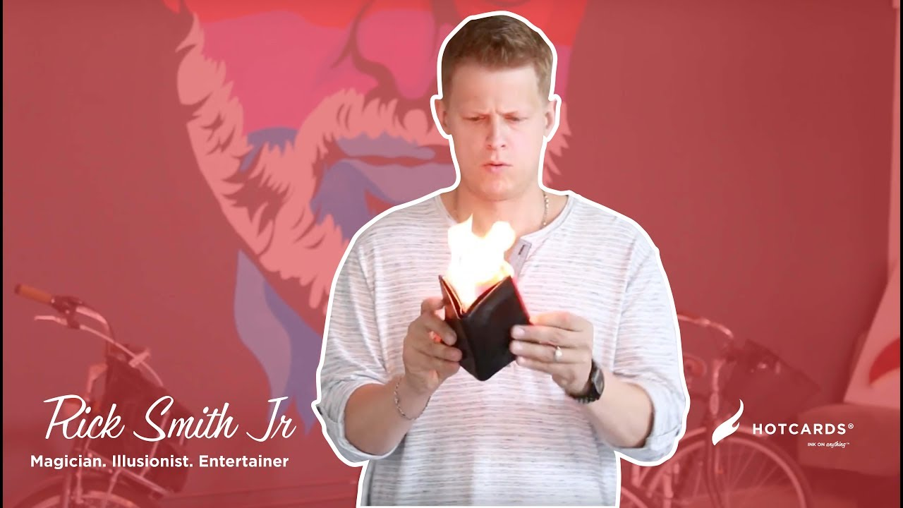 Fire business card throwing rick smith jr youtube fire business card throwing rick smith jr reheart Image collections