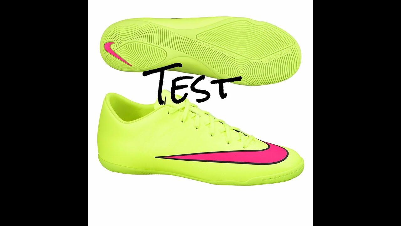 ee5765bba0f0 Test  Nike Mercurial Victory V Indoor   Turf - YouTube