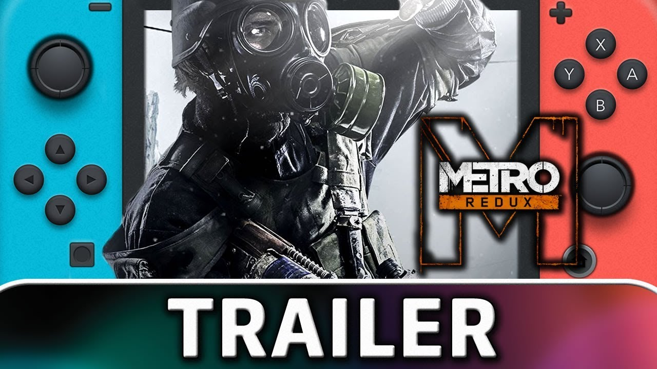 Metro Redux | Nintendo Switch TRAILER & SCREENSHOTS