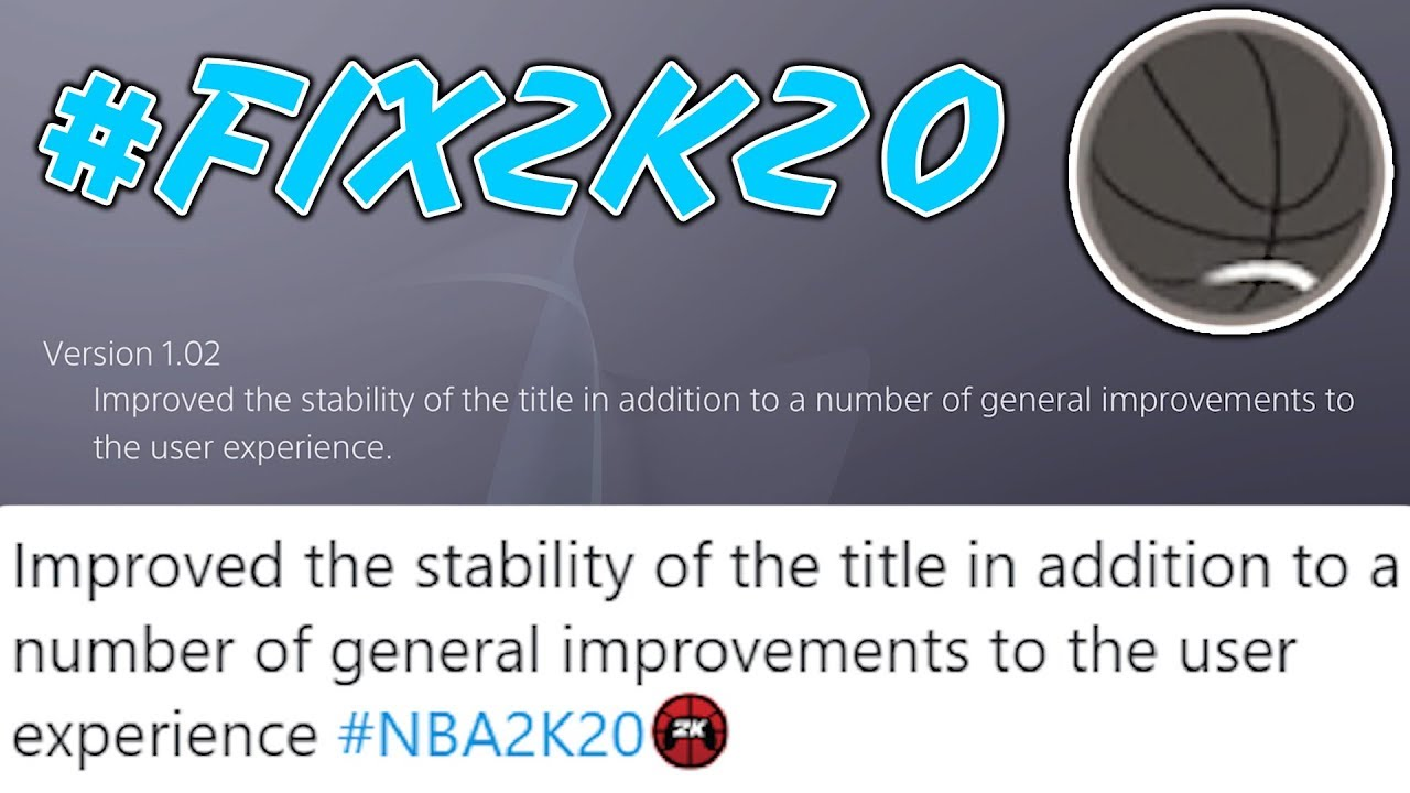 5 Things Noticed In 1st PATCH Of NBA 2K20 (#FIX2K)