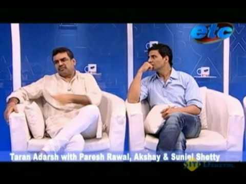 Taran Adarsh With Paresh Rawal Akshay & Suniel Shetty_Part 1