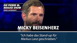 Micky Beisenherz über den geheimen Gag-Autor von Markus Lanz bei Wetten, dass..?