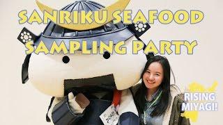 Rising Miyagi – Sanriku Seafood Sampling Party