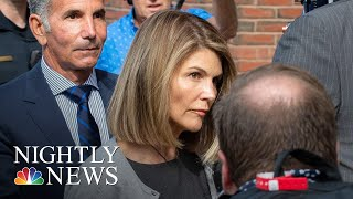 Lori Loughlin Pleads Not Guilty To New Charges In College Admissions Scandal | NBC Nightly News