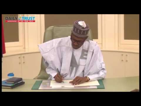 How Buhari spent his first day back as President after 50-day medical vacation