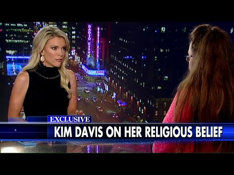 Kim Davis Told Megyn Kelly She'd Never Grant Her Gay Child A Marriage License