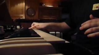 Part 6. Recording the third Wobbler album. Hammond and piano.