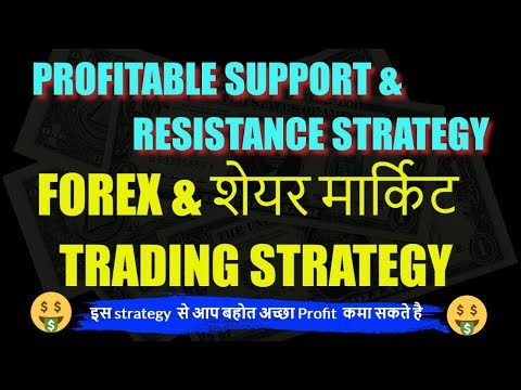 [ IN Hindi ] SUPPORT & RESISTANCE TRADING STRATEGY FOR FOREX & SHARE MARKET. (Advanced video)