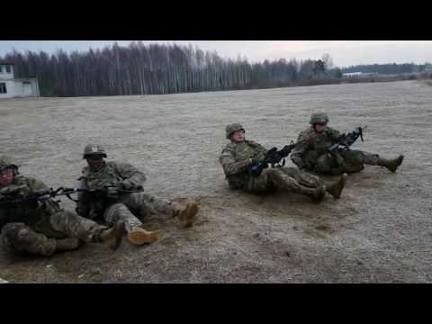 Infantry life
