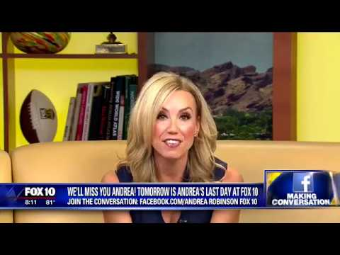 Andrea Fox 10 Announces She Is Leaving Fox 10
