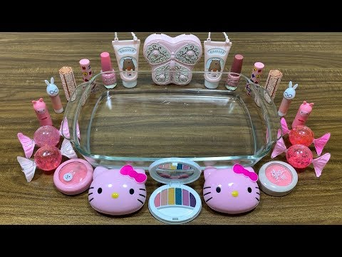 Mixing MakeUp Into Slime || SPECIAL SERIES HELLO KITTY || Most Satisfying DIY Slime