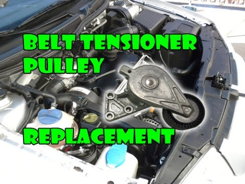 How To Replace Auxiliary Serpentine Belt And Tensione Doovi