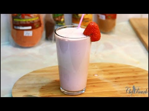 STRAWBERRIES SMOOTHIE /Chef Ricardo Juice Bar