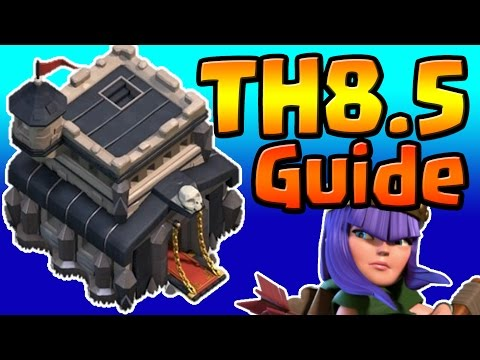 Clash of Clans: TH8.5 TH9 UPGRADE PRIORITY LIST & GUIDE (January 2017) ULTIMATE!!!