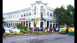 Delhi Downtown CBD Connaught Place Must visit tourist attraction of Delhi India