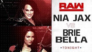 GUERRA DE MARCAS 2018 - RAW #1 (3-7) - NIA JAX vs. BRIE BELLA