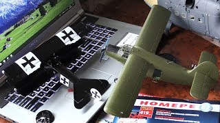 Модели в работе и доработки - Ми-24, Fokker DR-1, Ан-2 и другие...