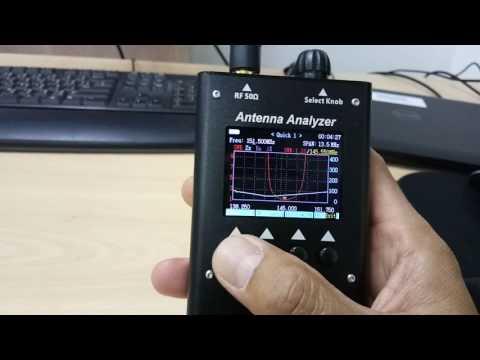 Antenna Analyzer SURECOM SA-250