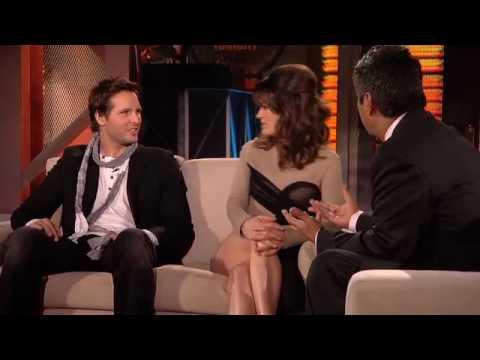 Lopez Tonight Elizabeth Reaser & Peter Facinelli 712010