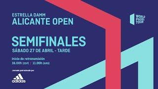Semifinales - Tarde - Estrella Damm Alicante Open 2019 - World Padel Tour