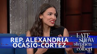 Rep. Ocasio-Cortez And Stephen Eat Ben &...