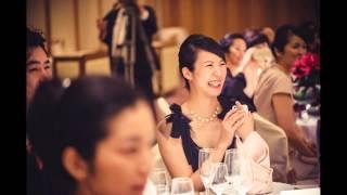 帝國ホテルでの結婚式スナップ写真スライドショー2013.11.10