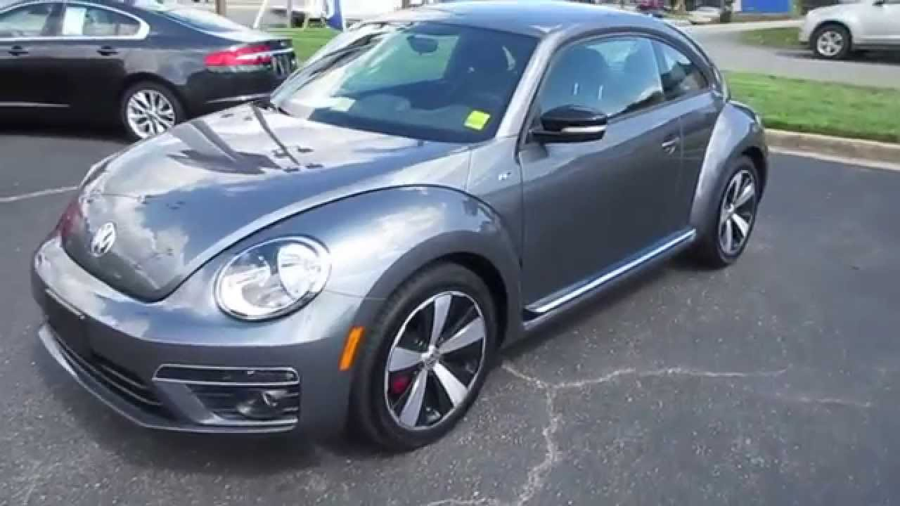 2014 volkswagen beetle r line walkaround start up. Black Bedroom Furniture Sets. Home Design Ideas