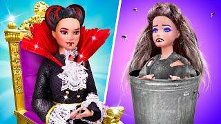 Rich Vampire vs Broke Vampire / 10 Barbie Doll DIYs