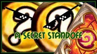 Hearthstone: A secret standoff (murloc paladin)