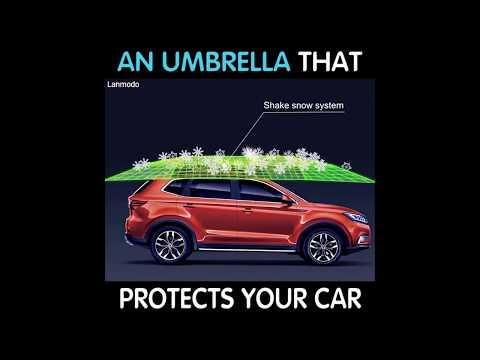 This Umbrella Protects Your Car