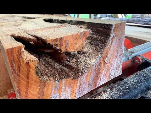 How To Get Useable Lumber Out Of Ugly, Low Grade Logs On A Sawmill,