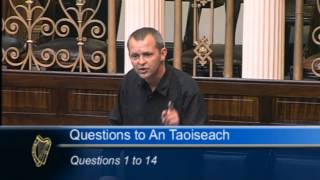 Richard Boyd Barrett TD challenges Taoiseach on his defence of G8 Agenda