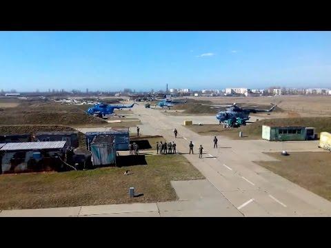 Ukraine War - Ukrainian air force urgently evacuate from Crimea Ukraine