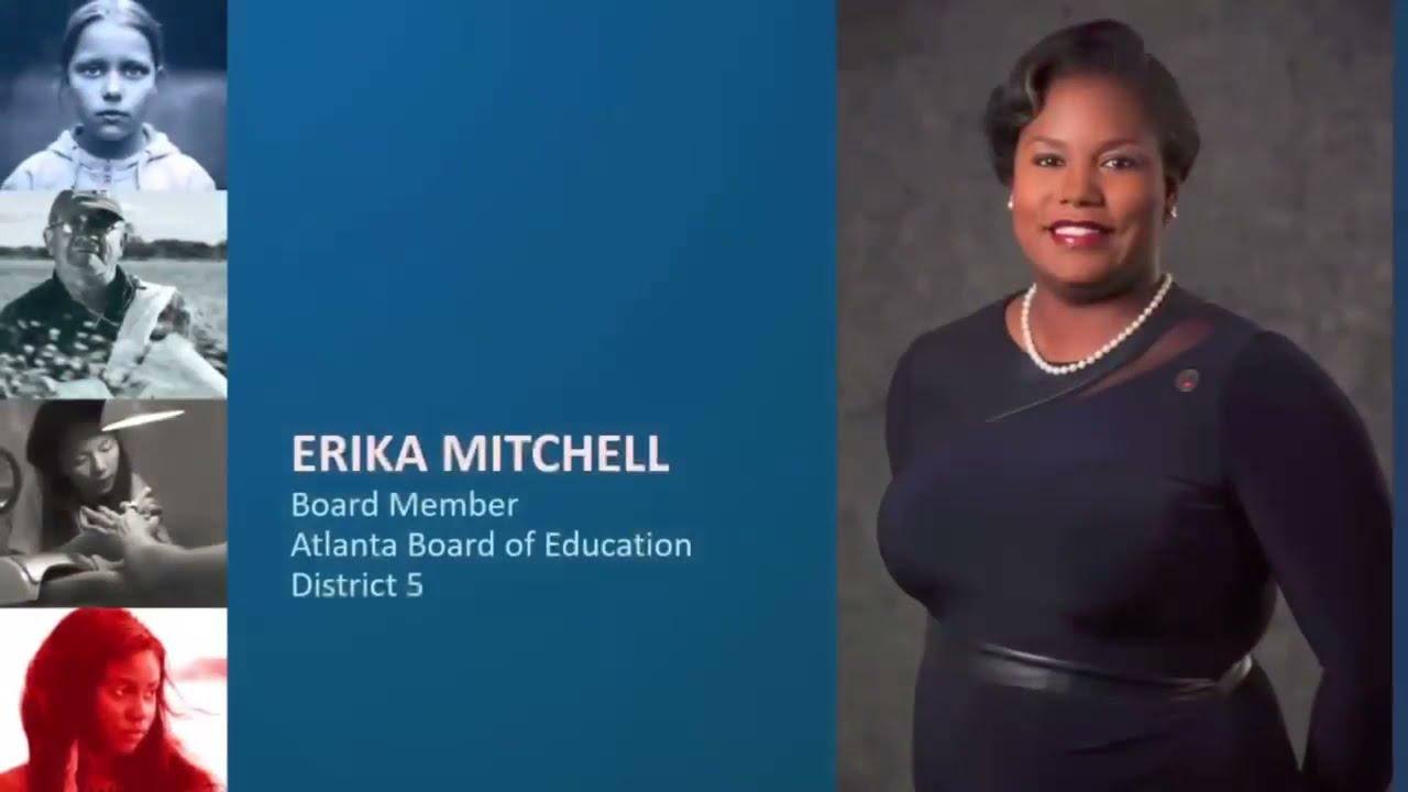 Board Member Mitchell's Human Trafficking Awareness