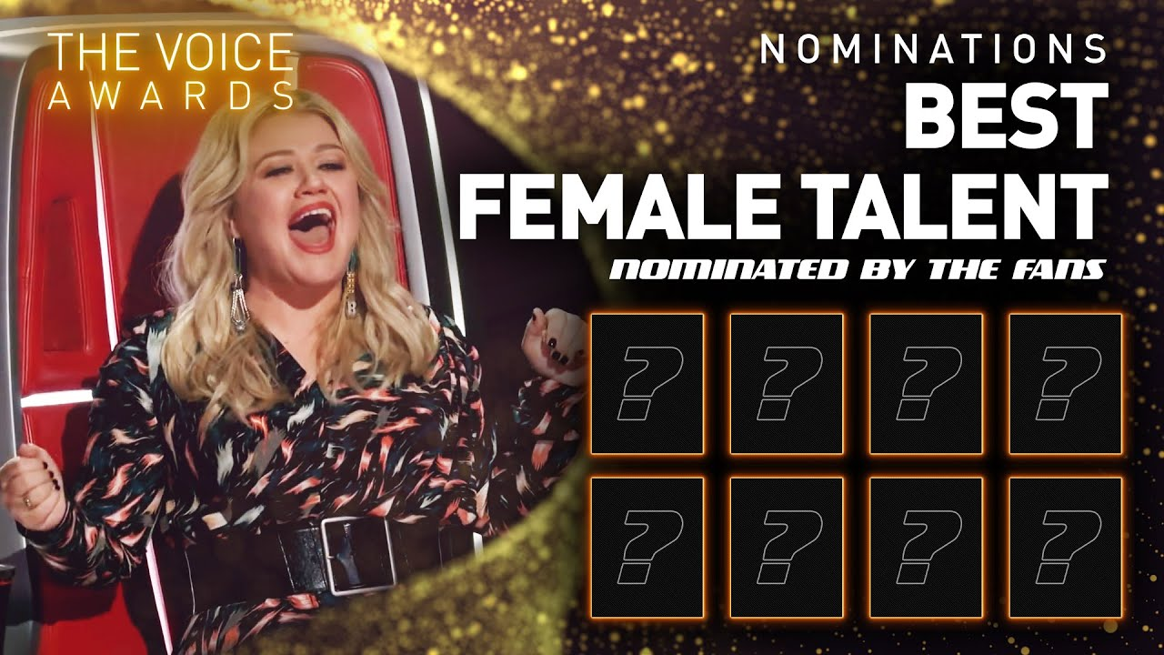Best Female Talent nominees | The Voice Awards