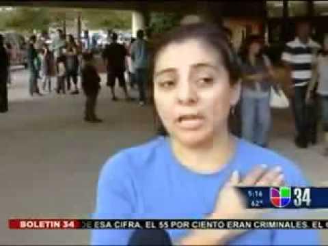 Univision coverage of Rep. Gutierrez